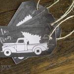 Free Christmas Printables- Gift Tags