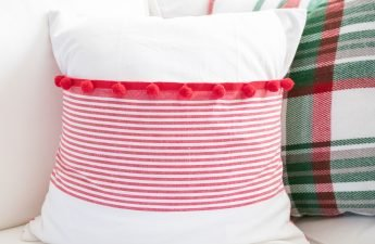 How to make a pillow cover-how to make an envelope closure pillow covoer-how to make a throw pillow