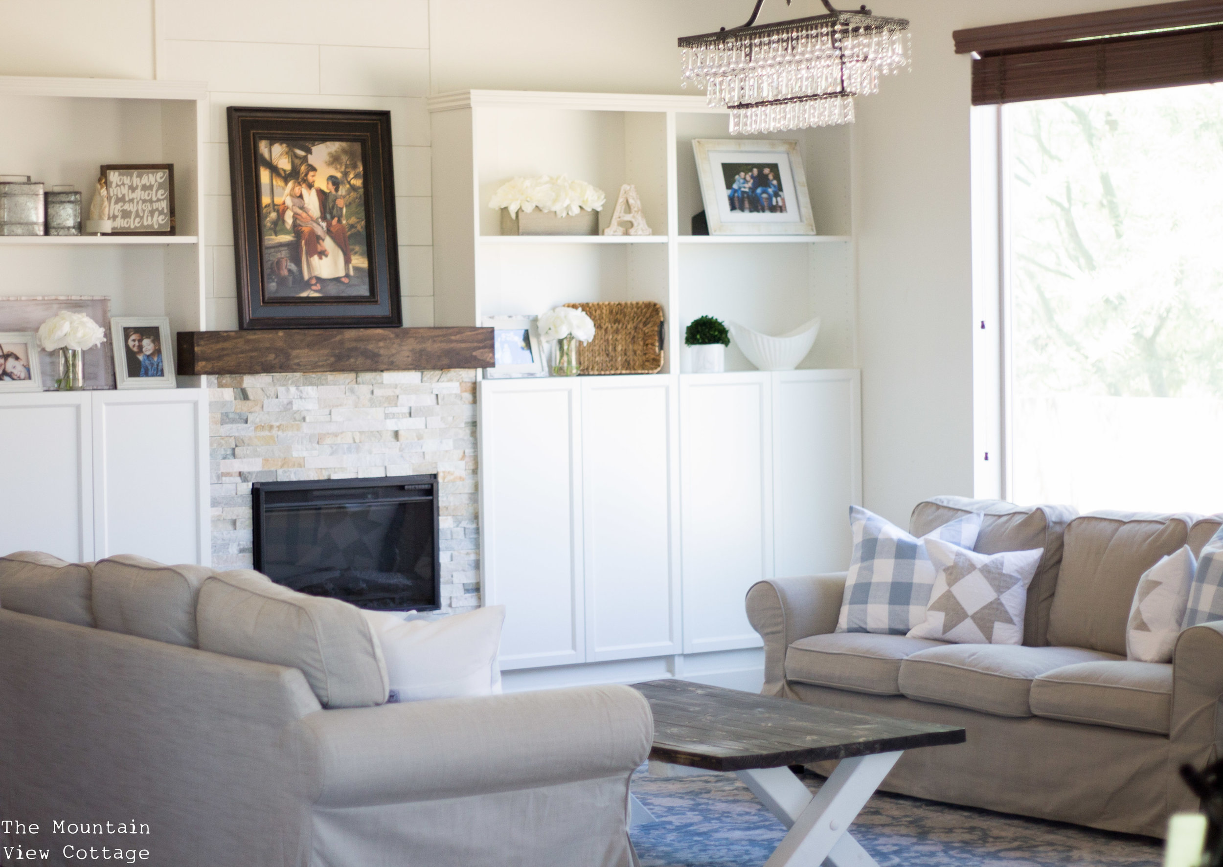 Farmhouse Style-Formal Living Room Reveal (client project) - The ...