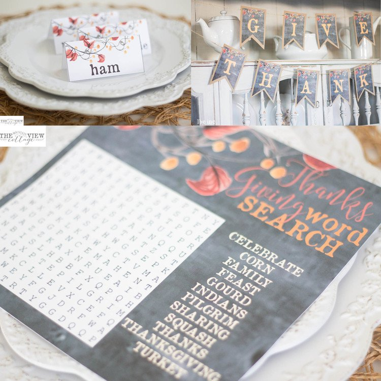 free thanksgiving printables-farmhouse-rustic-style
