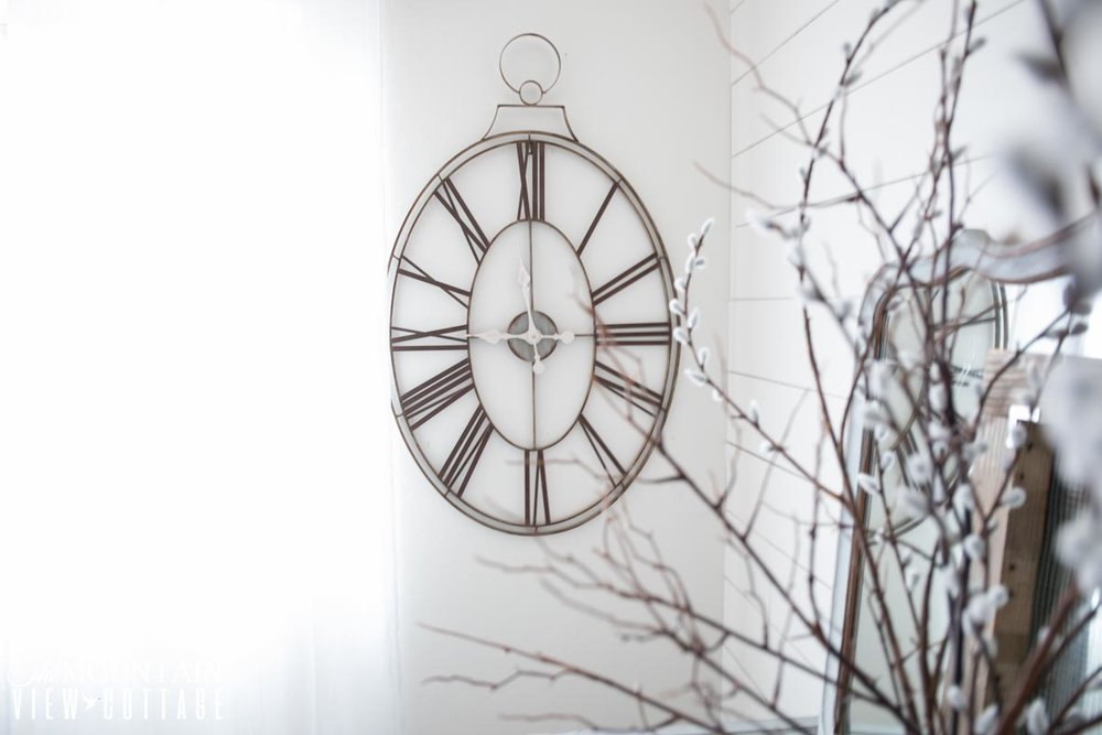 Clock from Decor Steals
