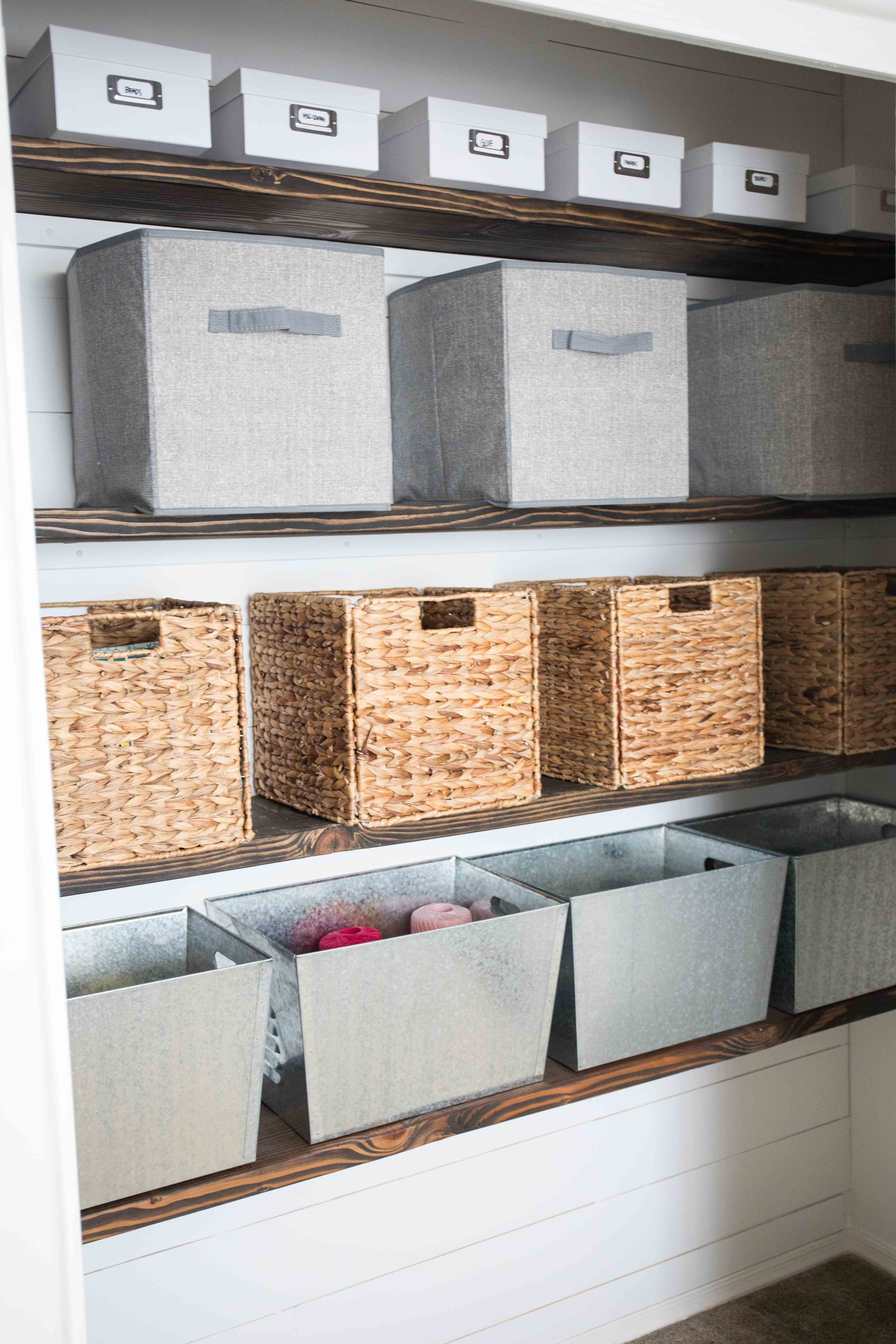 Craft Organization Ideas How To Organize Your Craft Supplies Closet  Organization Ideas