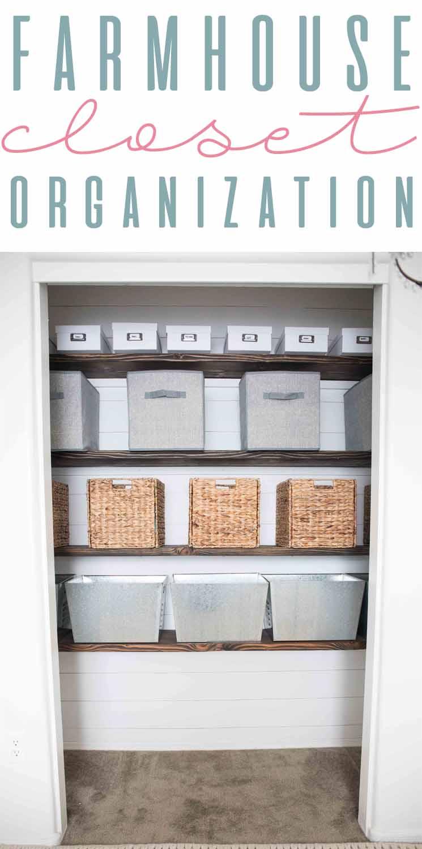 Closet Organization Shopping Guide