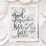 10 Free Farmhouse Style Bible Verse Prints- Update: What Life Has Been Like After A Full Year of Blogging