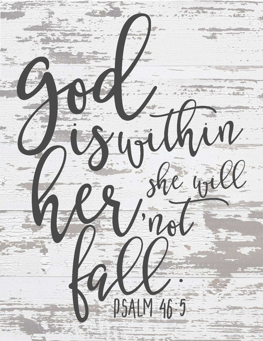The Best of Free Farmhouse Style Scripture Printables - The