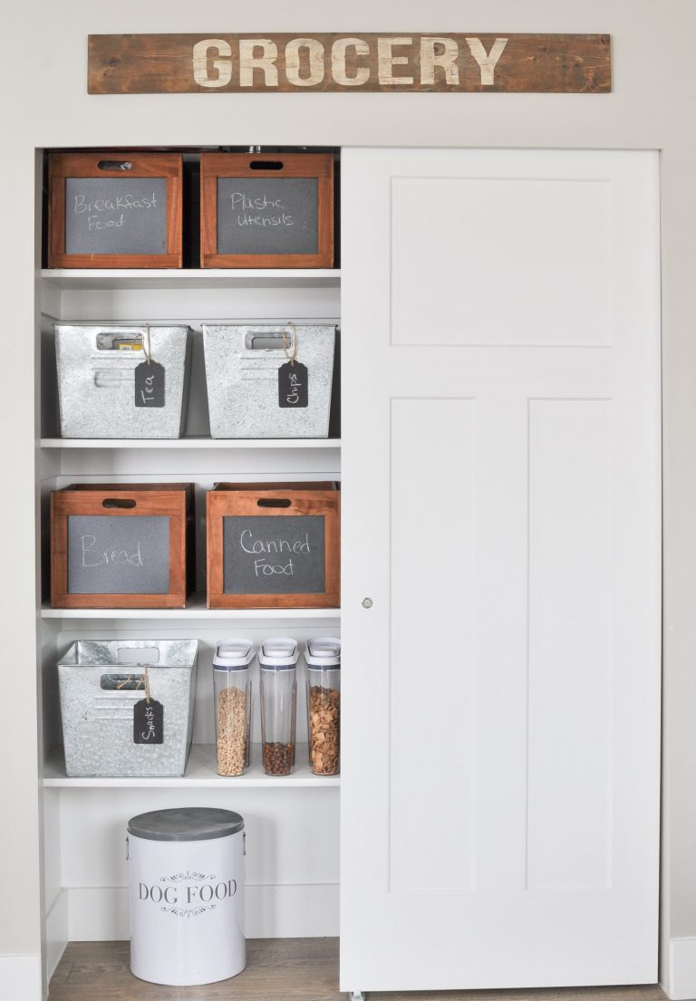 Organization Ideas for the Home-Farmhouse Style - The Mountain View ...