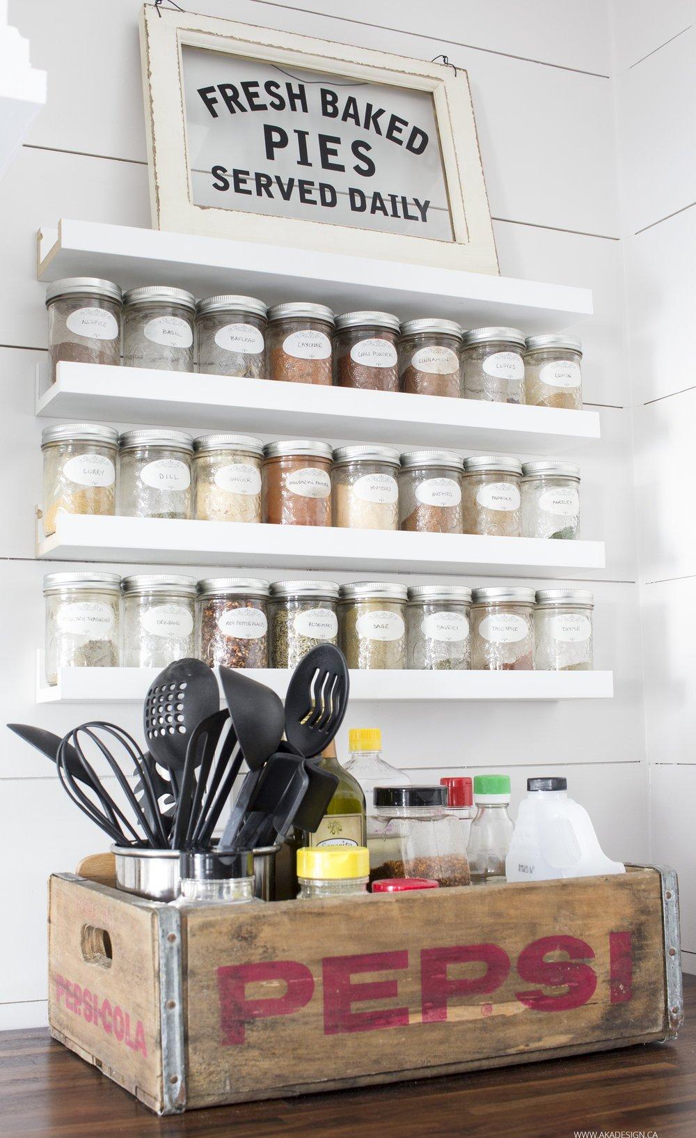 Organization Ideas for the Home-Farmhouse Style - The Mountain View ...