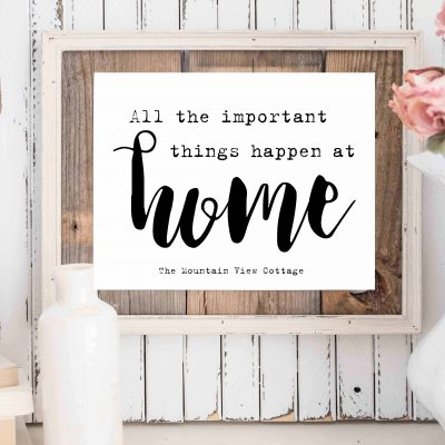 Homey Farmhouse Printables For your Home Decor