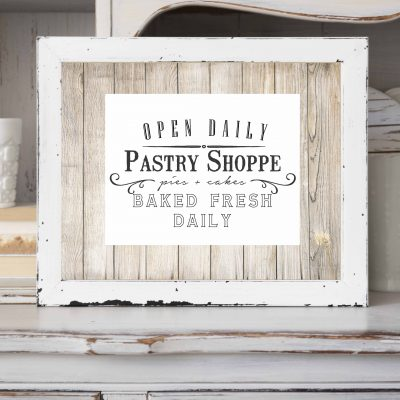 Vintage Sign Inspired Farmhouse Printable's