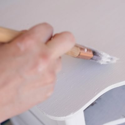 How to Paint Chippy Furniture-