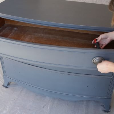 How to Apply a Durable Polyurethane Top Coat to Painted Furniture