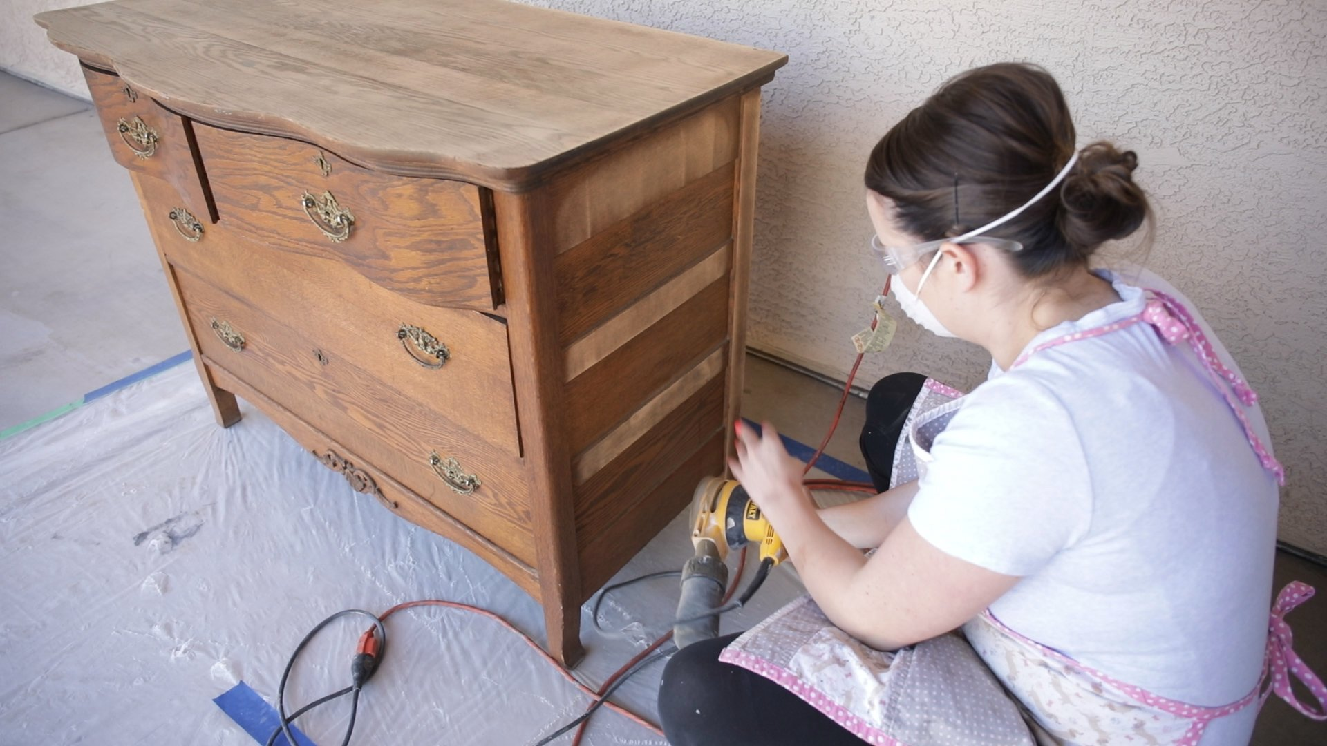 Introduction to Milk Paint How to Prep Your Furniture For a Chippy Finish1