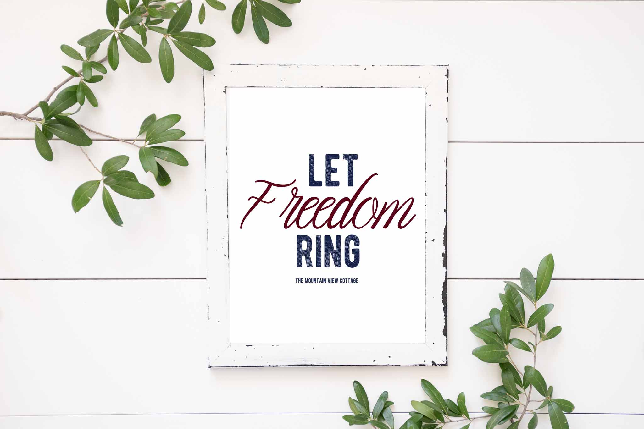 4th of July Prints-Let Freedom Ring