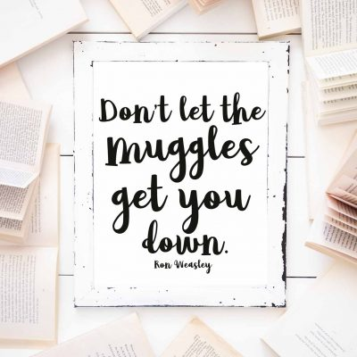 Harry Potter Prints-A Little Magic for Your Home Decor