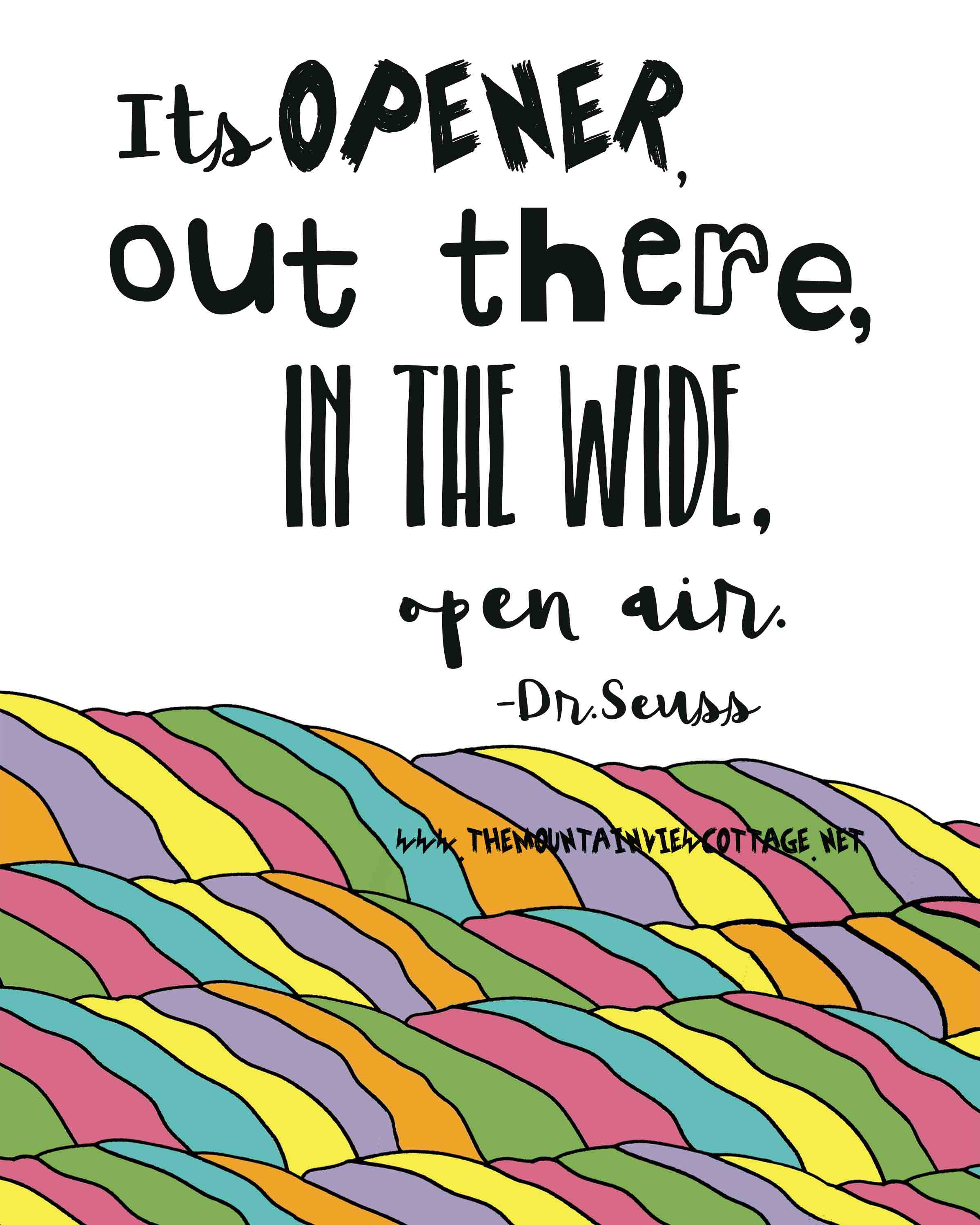 nature quotes-cute kid quotes-boy quotes-outdoor quotes-Dr.suess quotes