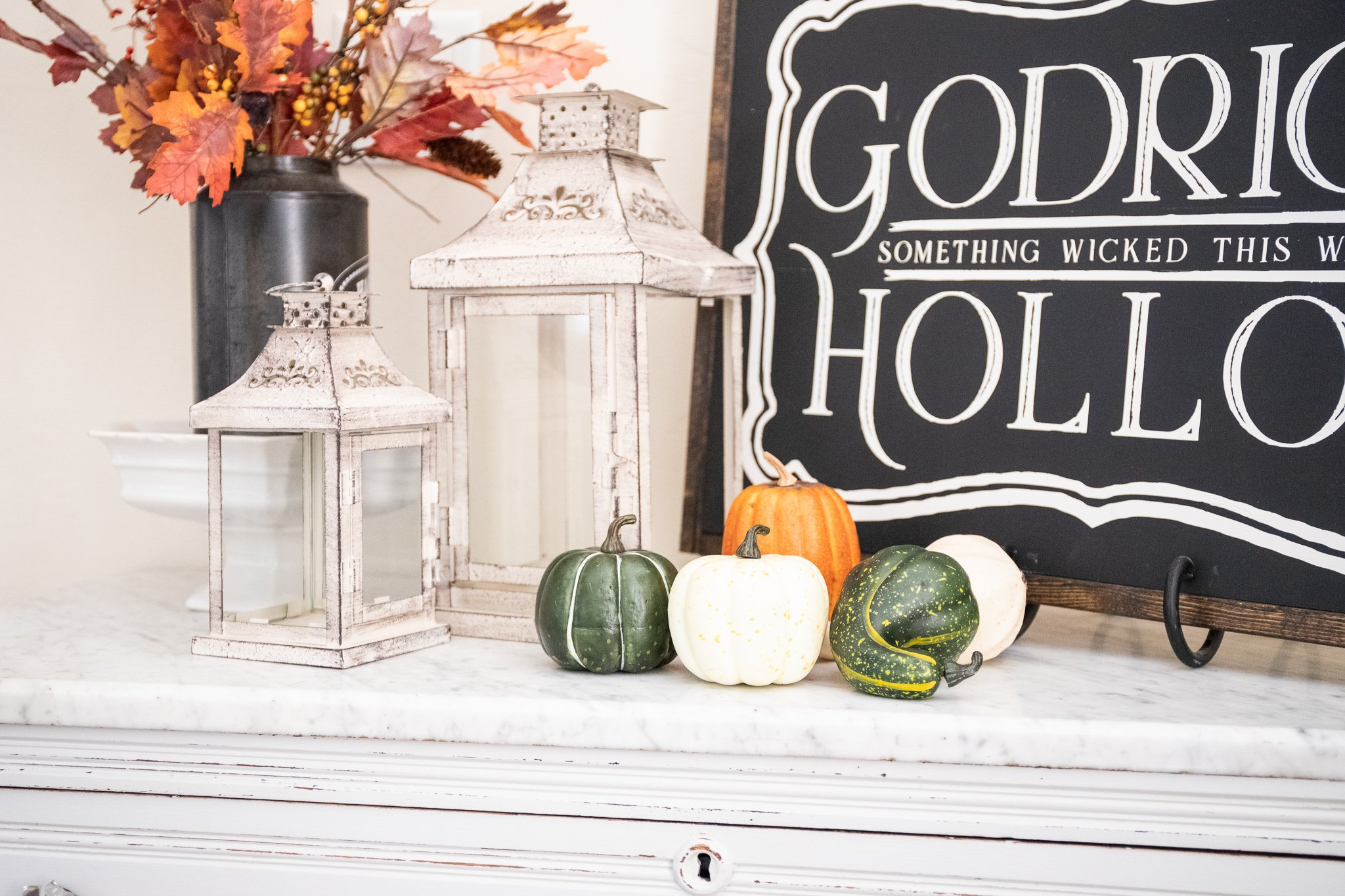 Indoor Halloween Decor-Halloween Decorations-Cheap Halloween Decor Ideas